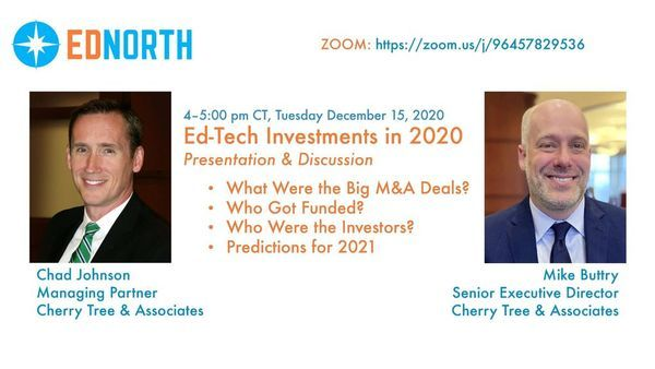Ed-Tech Investments in 2020--What a Year!   Meetup