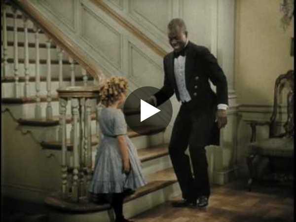 Bojangles Dances for Shirley Temple