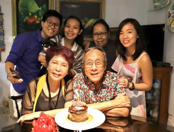 8th December 2020: My Mom's birthday with the family <3