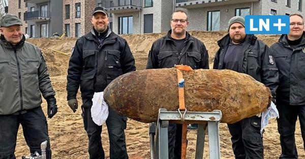 Spezialisten knackten die Geesthachter Bombe mit einem Wasserschneidgerät