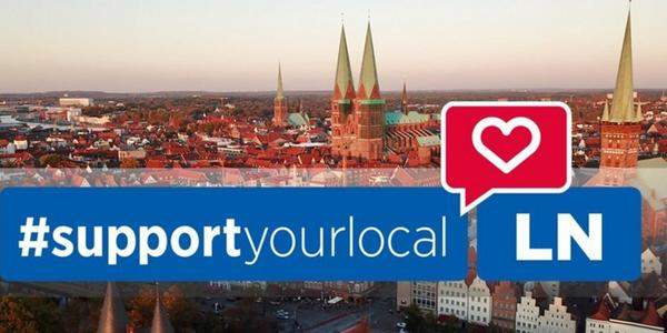 Mit #supportyourlocal durch den Lockdown in Lübeck