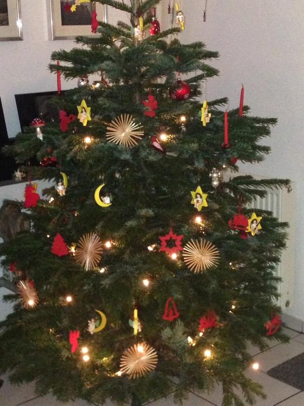 Maria Feldkamps Weihnachtsbaum vom vergangenen Jahr.