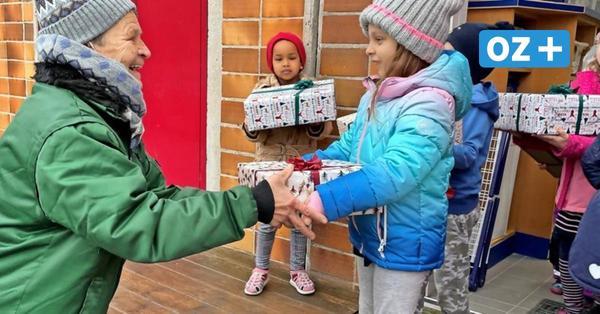 Bad Doberan: Tafel und Kinder überraschen Kunden mit Weihnachtsaktion