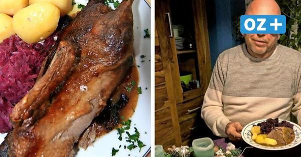 Weihnachtsessen: Rostocker verrät Familienrezept für Ente mit Rotkohl