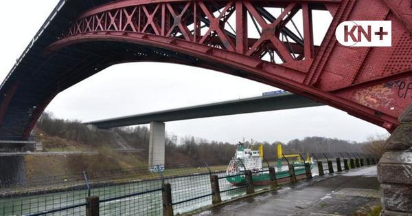 Bauarbeiten für neue Levensauer Hochbrücke