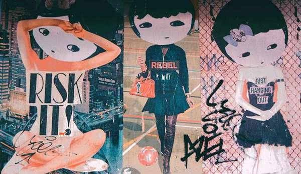 Phoebe NYC, street art. @phoebenewyork
