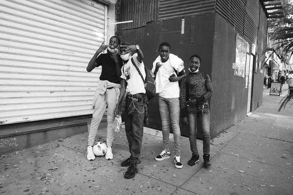 Greetings from El Barrio, New York City, November 2020
