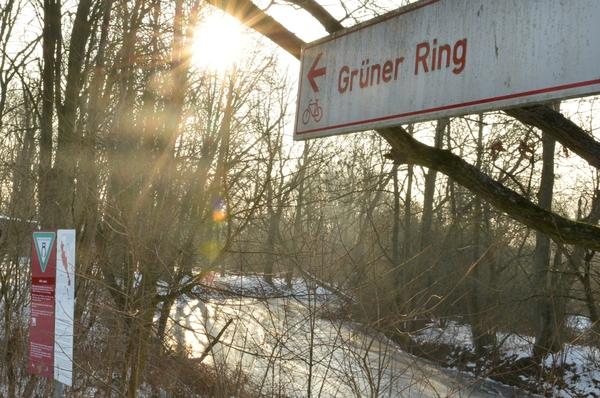 Der Weg durch die Feldmark führt auf dem Rad- und Wanderweg Grüner Ring entlang. (Foto: Torsten Lippelt)