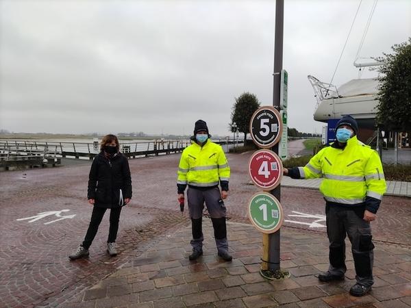 Nieuwpoort devient une station de ski pendant la période de fin d'année - Nieuwpoort wordt skioord tijdens de eindejaarsperiode