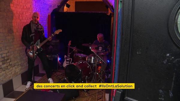 À Dunkerque, des concerts en live de quinze minutes à commander en click and collect - Bestel je concert online in Duinkerke