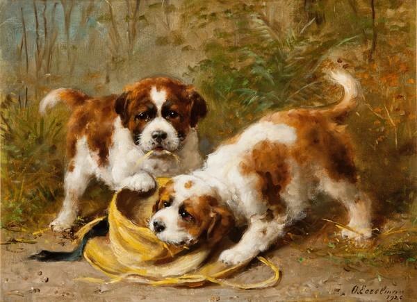 Trouwe viervoeter - dierenportretten van Otto Eerelman - Stedelijk Museum Vianen