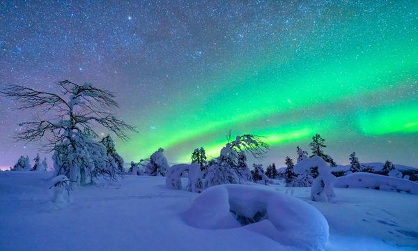 Nordlichter vom Sofa aus sehen – Winterzauber für zu Hause!