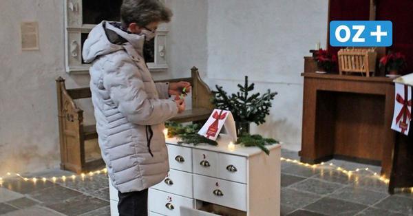 Adventsaktion in Greifswalder Kirche: Weihnachtliche Stationen für die Besucher