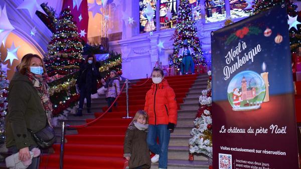 Dunkerque : on vous emmène dans le château du Père Noël qui vient d'ouvrir ses portes -  Duinkerke: we nemen je mee naar het kasteel van de Kerstman