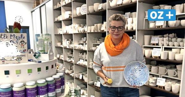 Farbtupfer im grauen Lockdown: Rostocker Tuschbar bringt Keramikwerkstatt nach Hause