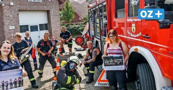 Dorf Mecklenburg: Freiwillige Feuerwehr bringt eigenen Kalender für 2021 heraus