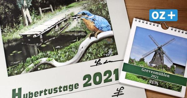 Nordwestmecklenburg:Kalender 2021 zeigen Jagdmotive und Luftbilder