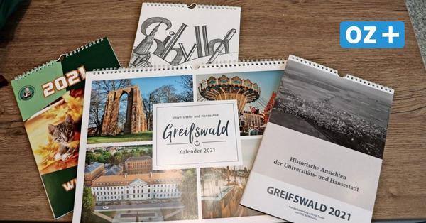 Dichtkunst, Tierwohl und Historie – Das sind die Wandkalender aus Greifswald für 2021