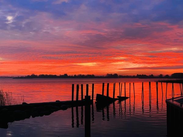 Hafen in Gristow erwacht (Foto: Doreen Eichhorn)