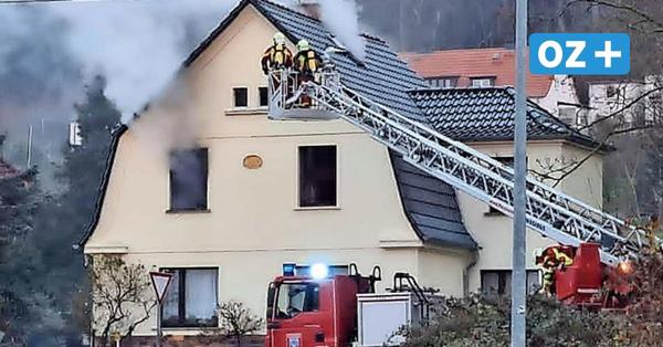 Feuer in Sassnitz: Nachbar rettet Haus-Bewohner (57) vor den Flammen