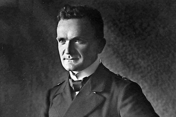 Erich Ewald (1884-1947) war Lichtbildoffizier und Luftbildpionier. Quelle: Militärhistorisches Museum Gatow