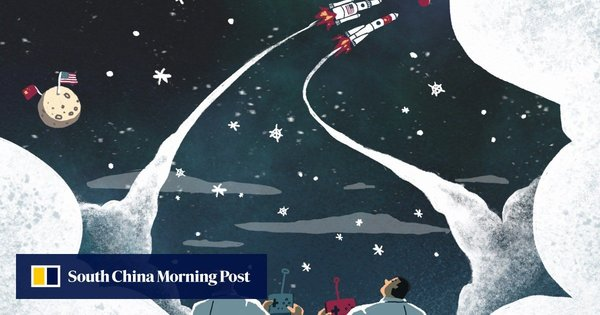 US-China tech war: rivals no longer worlds apart as they shoot for the moon