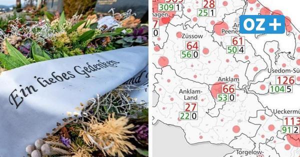 Karte gibt Gewissheit: Usedom hat die meisten Corona-Todesfälle in Vorpommern-Greifswald