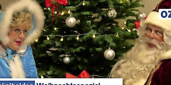 Warum sich der Weihnachtsmann Rostocks Oberbürgermeister in den Märchenwald wünscht