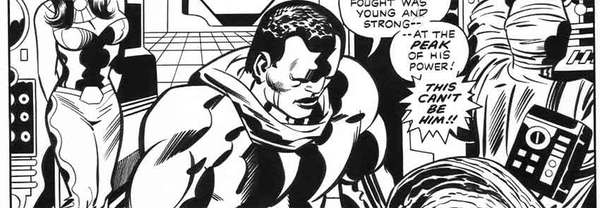 Jack Kirby - Black Panther Original Comic Art