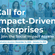 Apply to a Social Impact Accelerator!