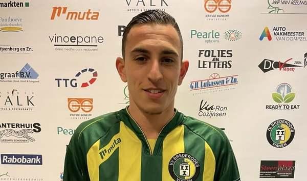 Jamal Ouassif keert via DTS Ede terug bij Brederodes