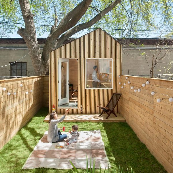 Twelve back-garden offices for working from home