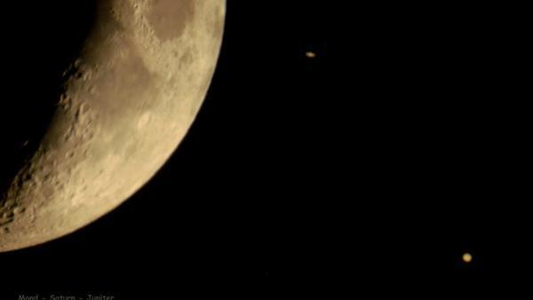 Feldberger beobachtet Annäherung von Jupiter und Saturn