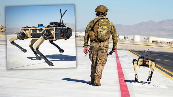 Here Is What The Air Force's New Robot Dogs Are Actually Capable Of