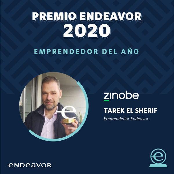 🏆Felicitaciones a Tarek El Sherif, fundador de Zinobe, por ser el ganador del premio Emprendedor del Año de #EndeavorColombia 2020. 🚀