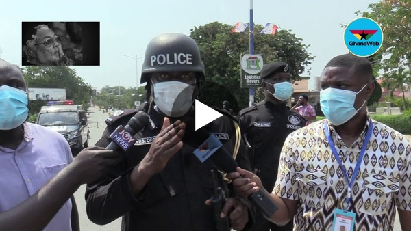 Election 2020: NDC protesters clash with police at EC Headquarters
