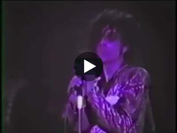 """Rare footage of the recording of """"Purple Rain"""", with commentary"""