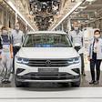 VW startet Produktion des Tiguan eHybrid in Wolfsburg