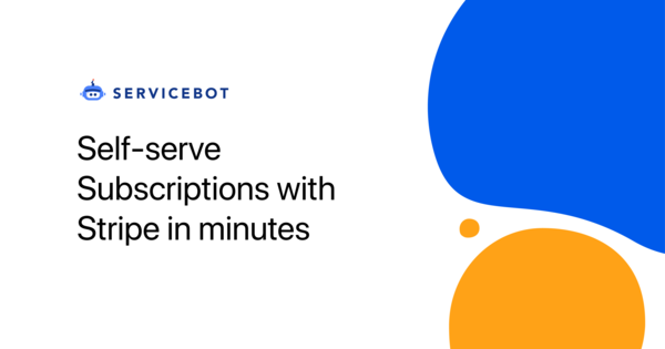 Self-serve SaaS subscriptions with Stripe in minutes