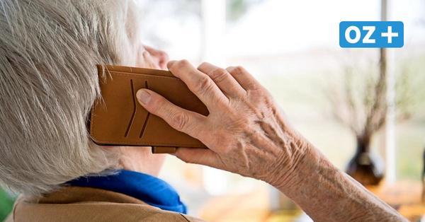 Betrüger-Anrufe in Vorpommern: 99-jährige Franzburgerin lässt Ganoven abblitzen