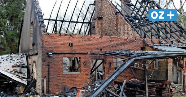 Der Tag nach den zwei Bränden in Herrnburg: Hausbesitzer war nur zufällig nicht daheim