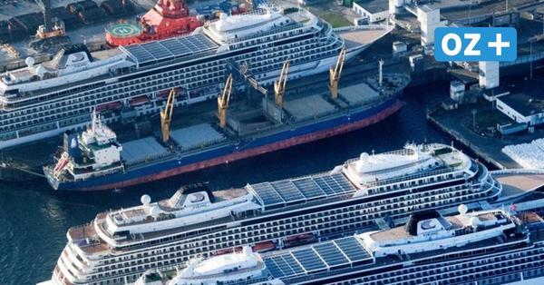 Kreuzfahrt-Krise: Weiterer Viking-Luxusliner macht im Rügener Fährhafen fest