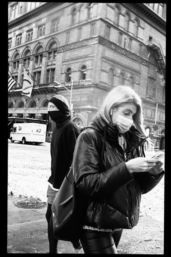 Masked in Midtown, New York City, 17 December 2020
