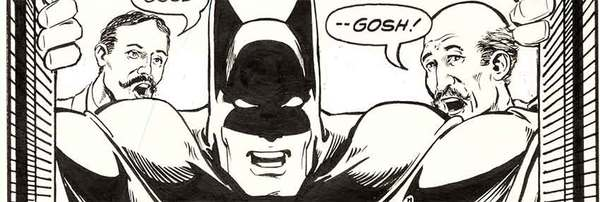 Marshall Rogers - Batman Original Comic Art