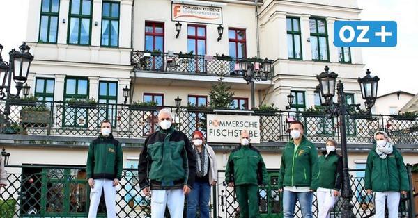 Dank der OZ-Weihnachtsaktion: Große Grillparty für Pflegekräfte aus Ahlbeck