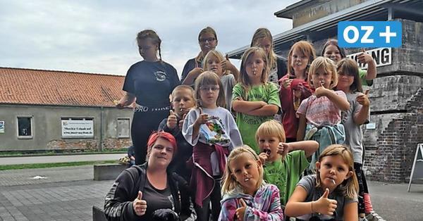 """Spendenaktion auf Usedom: Sammeln für Kinder- und Jugendverein """"Griffin Kids"""""""