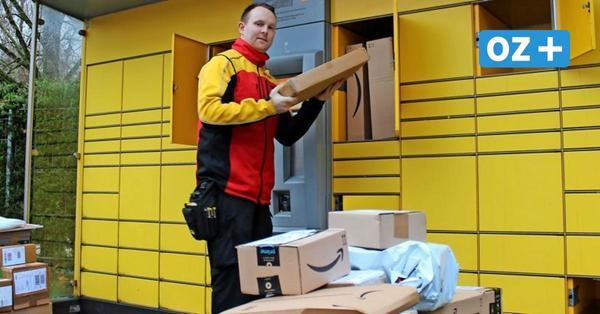 Rekordjahr bei DHL: Rostocker Paketbote berichtet vom Stress vor Weihnachten