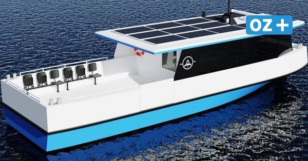 Stralsunder bauen neue Usedomfähre mit Solar-Elektro-Antrieb