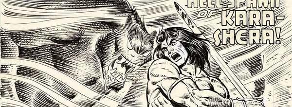 Gil Kane - Conan Original Cover Art