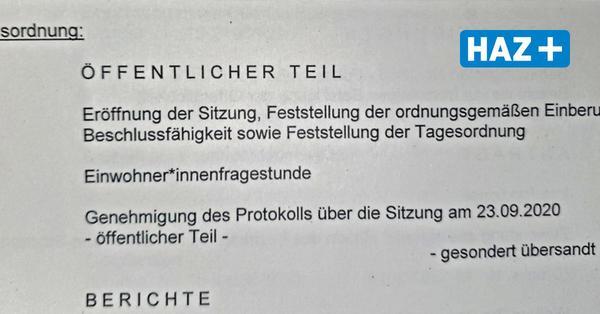Wie die CDU im Bezirksrat Herrenhausen-Stöcken gegen den Genderstern kämpft – und verliert